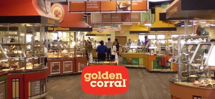 golden corral pigeon forge wat